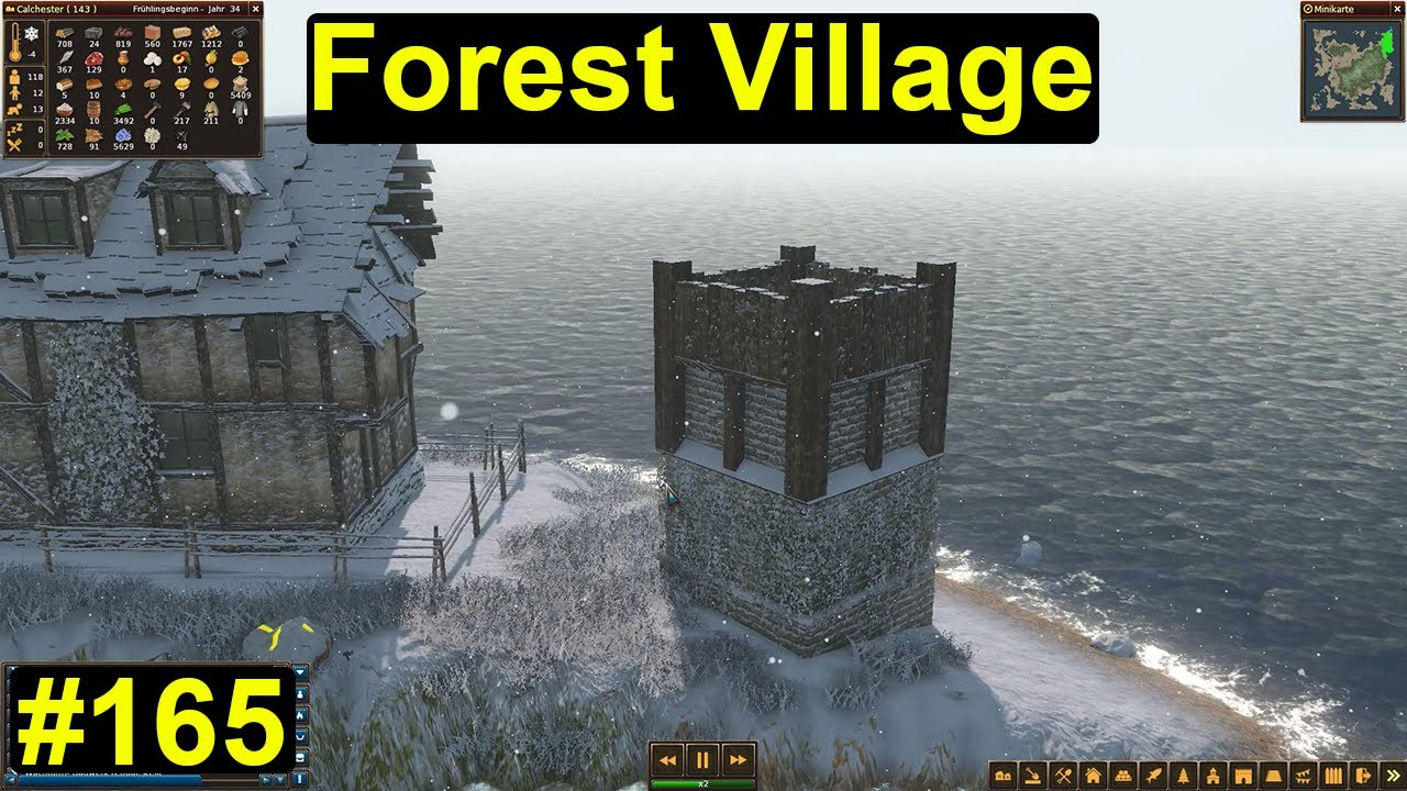 life is feudal forest village der turm zu calchester. Black Bedroom Furniture Sets. Home Design Ideas