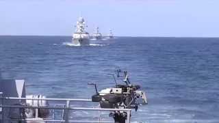 Военная мощь России в действии.