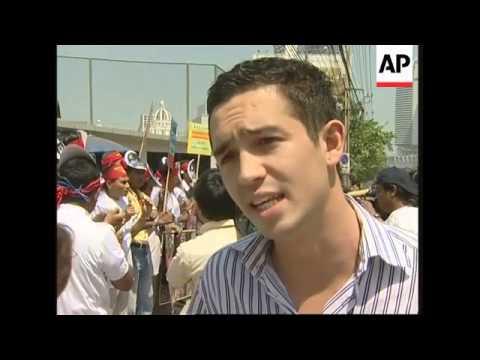 Protest against Myanmar junta on 12th anniversary of Suu Kyi house arrest