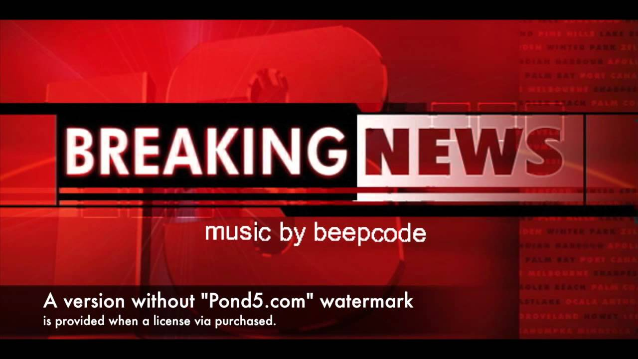 Commercial Background Music Breaking News Royalty Free By