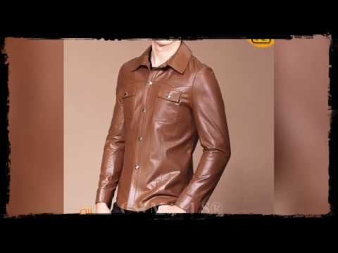 Designer Leather Shirt for Men CW807012 | jackets.cwmalls.co