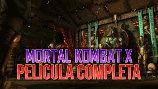 MKX | Mortal Kombat X/XL Película Completa | Todas las cinemáticas | Español Latino