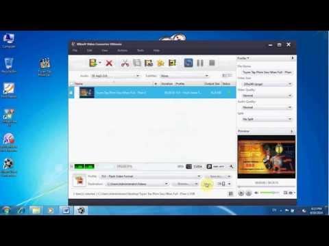 Chuyển đổi đuôi video chất lượng cao với phần mềm Xilisoft
