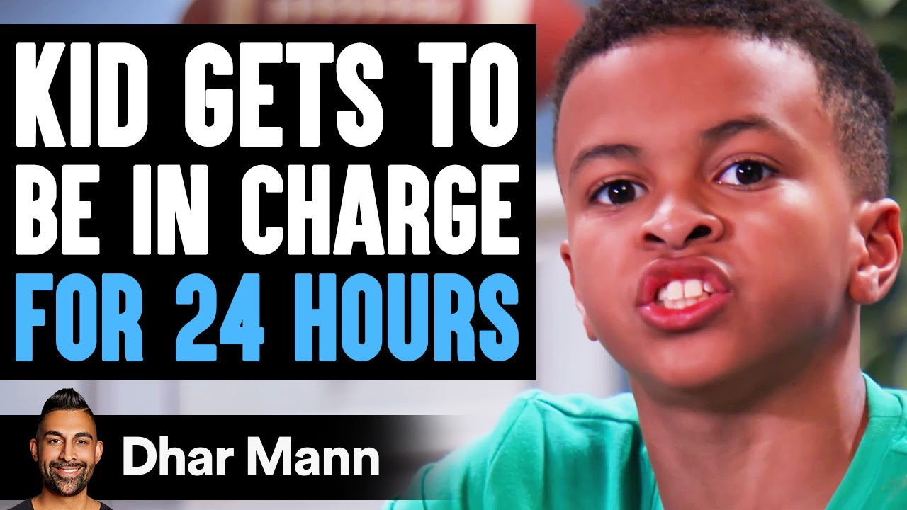 Download Kid Gets To BE IN CHARGE for 24 Hours, What Happens Is Shocking | Dhar Mann