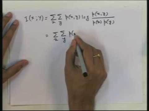 Lecture - 9 Information Theory (Part - 2)