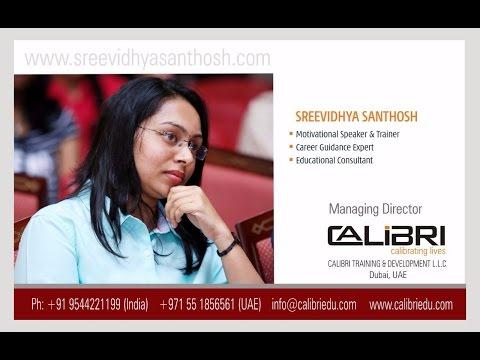 Career Planning - Malayalam   Radio Asia Interview - Sreevidhya Santhosh   calibriedu.com
