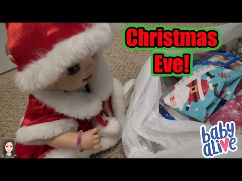 Baby Alive Emma's Secret Santa Mission: Christmas Eve! | Kelli Maple