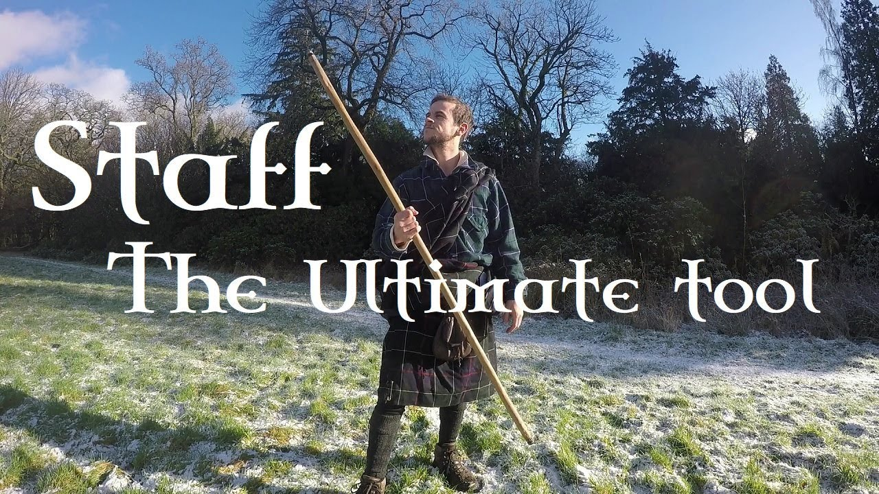 The STAFF  Multipurpose, Self-defence, Survival Tool (Scottish History and  Myth)