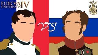 ОТЕЧЕСТВЕННАЯ ВОЙНА 1812 ГОДА - КРАТКАЯ ИСТОРИЯ С EUROPA UNIVERSALIS IV
