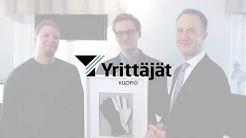 Kuopion Yrittäjät ry:n vuoden 2018 Nuori Yrittäjä -tunnustus Call To Action