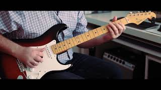 Fender American Original 50's Stratocaster Sunburst