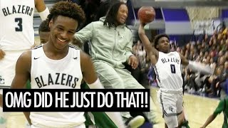 UH OH Bronny James Is Catching LOB DUNKS NOW! Brandon Boston Goes Off!!