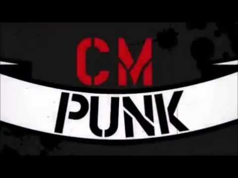 Wwe cm punk nameplate titantron cult of personality youtube - Cm punk logo images ...