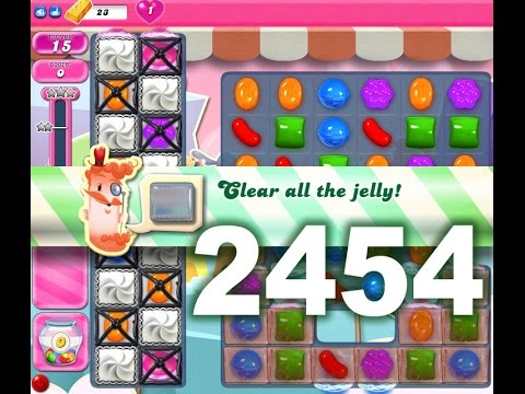 Candy Crush Saga Level 2454 (No boosters)