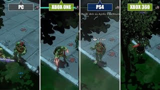 Turtles - Mutants in Manhattan: Grafikvergleich - PC/PS4/PS3/Xbox 360/Xbox One