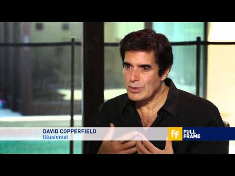 David Copperfield uses magic to heal