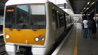 2009/04/25 グリニッジ線 クラス376 ロンドン・ブリッジ駅 / Greenwich Line: Class 376 at London Bridge