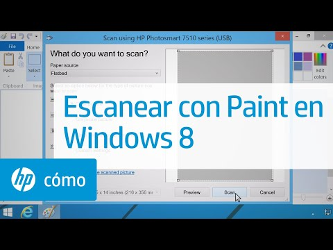 Escanear con Paint en Windows 8 | HP Computers | HP