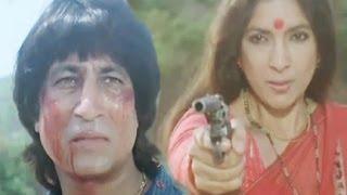 Neena Gupta Tries To Kill Shakti Kapoor, Veerta - Action Scene 21/21