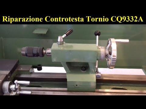 Riparazione Controtesta Tornio Damatomacchine (CQ9332A) |  Lathe Repair