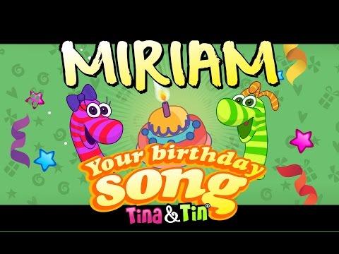 Tina&Tin Happy Birthday MIRIAM