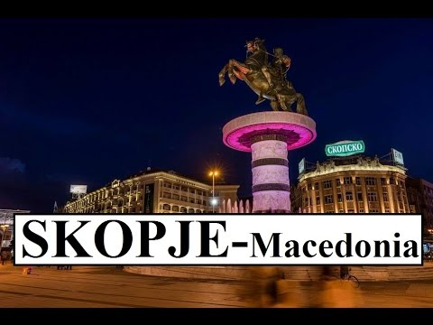 Macedonia-Skopje (Alexander the Great Fountain)  Part 7