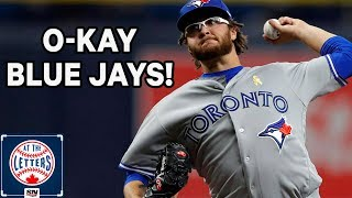 Analyzing Anthony Kay's 1st Start And Toronto Blue Jays Outfield Issues | At The Letters
