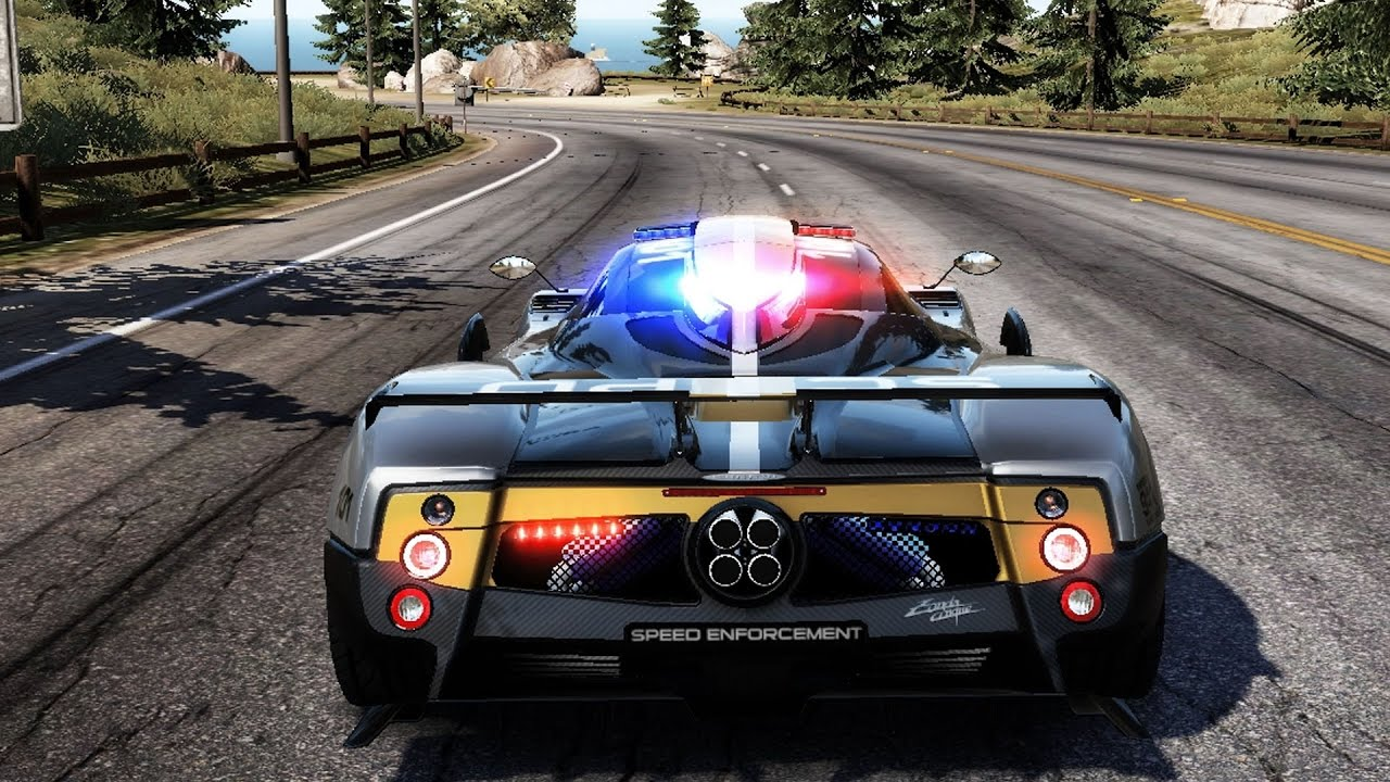 Need For Sd: Hot Pursuit - Pagani Zonda Cinque (Police) - Test ...