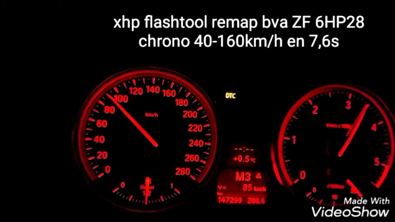 Remap xhpflashtool ZF 6HP28