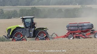 Claas Xerion on Tracs