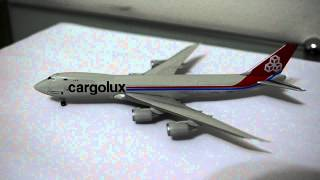 Video HERPA REVIEW: Boeing 747-8F Cargolux LX-VCB scale 1:500 download MP3, 3GP, MP4, WEBM, AVI, FLV Juni 2018