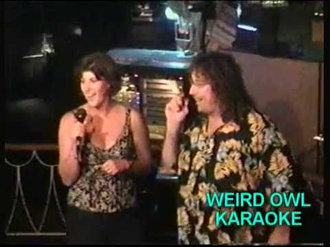 Weird Owl Karaoke TV show, clip from LBI, NJ and Wilm. DE. Gary Evans host. orig Aired 2008