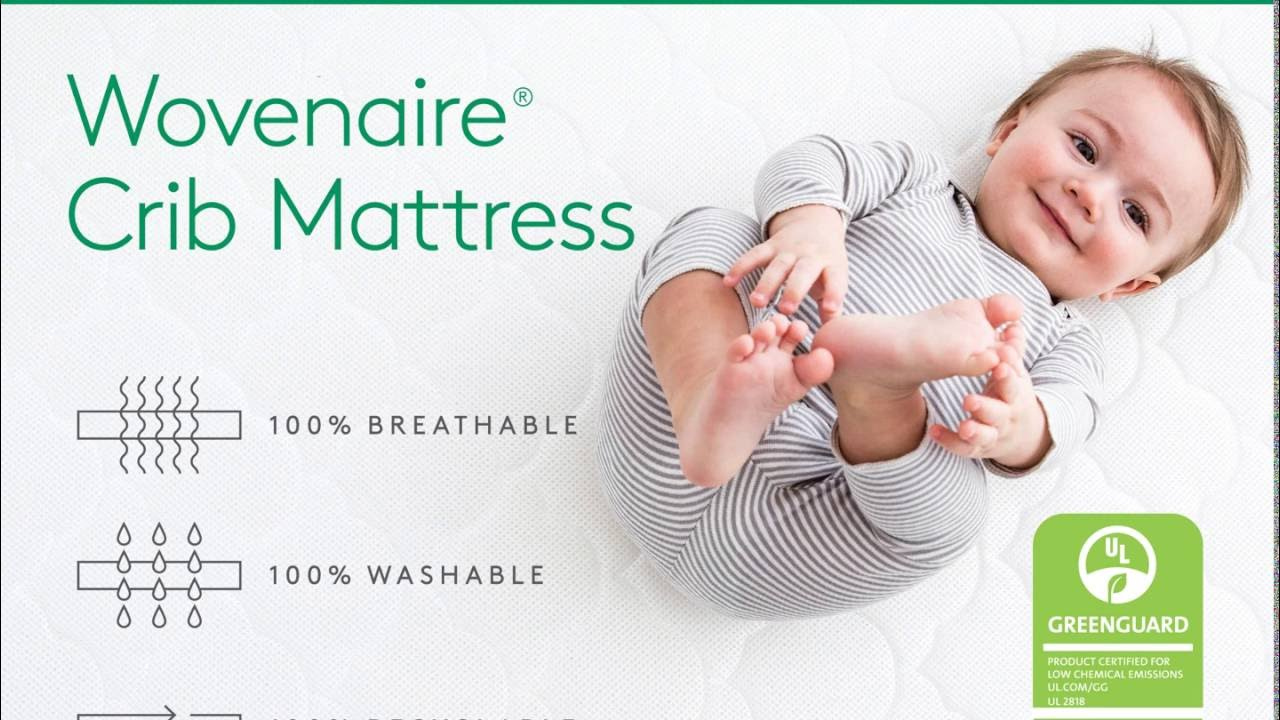 safesleep cotton kids cribs eugenia layer ll love you wayfair mattress baby crib mattresses mini breathable