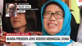 Gambar cover Sujiatmi, Ibunda Presiden Jokowi Meninggal Dunia