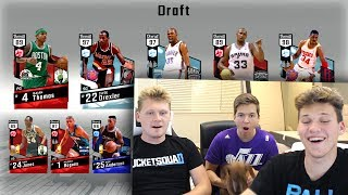 3 PLAYER DRAFT WITH JESSER AND TD PRESENTS NBA 2K17 DRAFT!