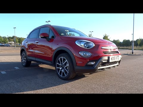 2015 Fiat 500X 1.4 MultiAir II 140 Cross Plus Start-Up and Full Vehicle Tour
