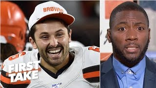 Baker Mayfield is going to ascend into the top-10 QB conversation – Ryan Clark | First Take