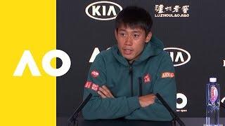 Kei Nishikori press conference (2R) | Australian Open 2019