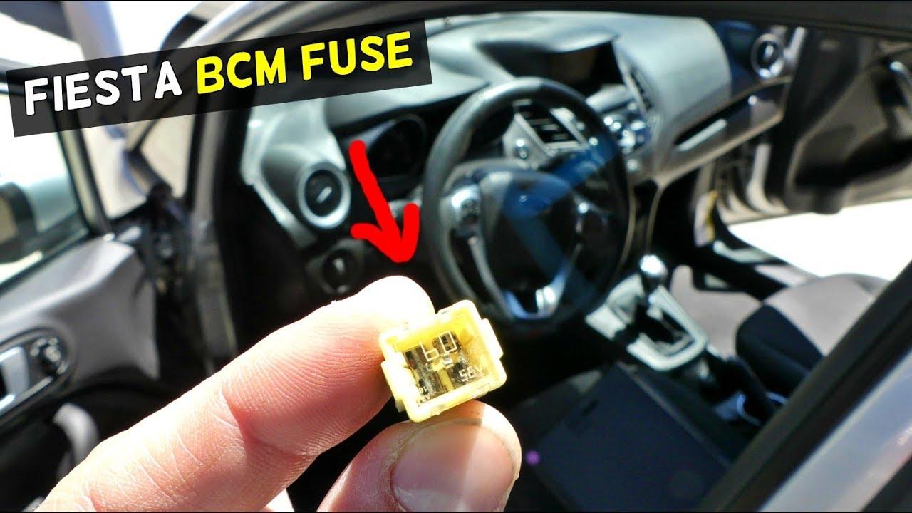 ford fiesta bcm module fuse location mk7 st [ 1280 x 720 Pixel ]