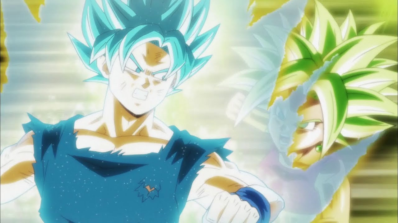 Goku Blue Vs Kefla Dbs Italiano Hd Youtube
