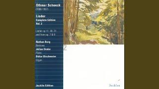 Zwölf Eichendorff Lieder Op 30 No 3 Winternacht