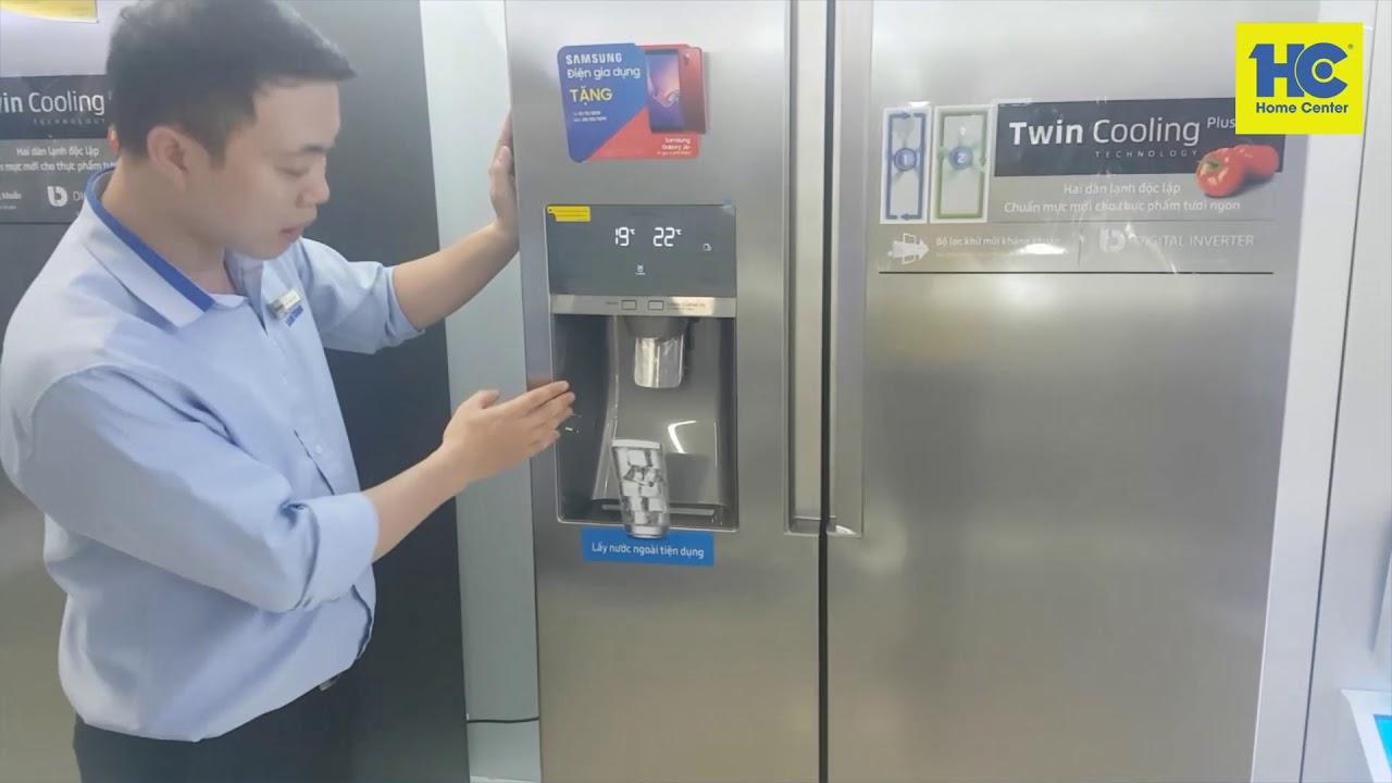 Hướng dẫn xả e, xả đá cho tủ lạnh Samsung