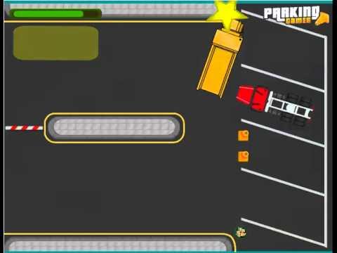 เกมส์จอดรถบรรทุกให้ถูกที่