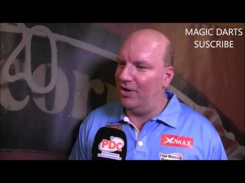 Rude Darts interview with Vincent