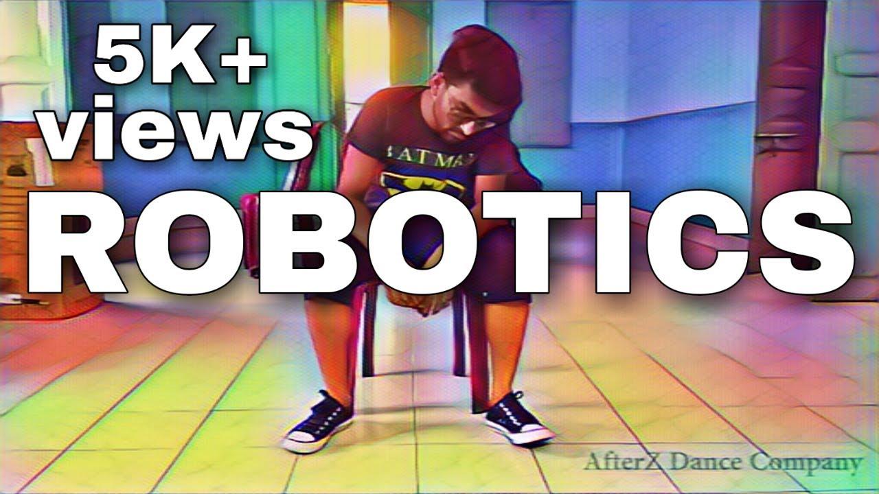 Robot Dance Best Robotic Dance By Akash Sharma Youtube