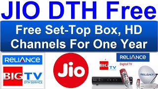 Reliance DTH Booking Rs.499/- Cashback offer Free Jio DTH / Reliance Digital TV / Jio DTH Offer