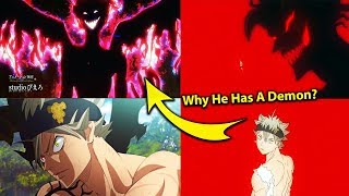 Why Asta Has a Demon Inside 5 Leaf Grimoire REVEALED in Black Clover