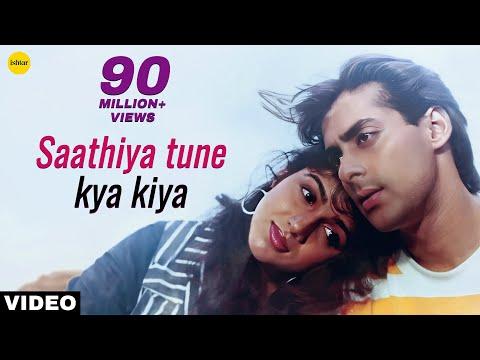 Saathiya Tune Kya Kiya - Video Song | Love | Salman Khan,Revathi | 90's Superhit Evergreen Love Song