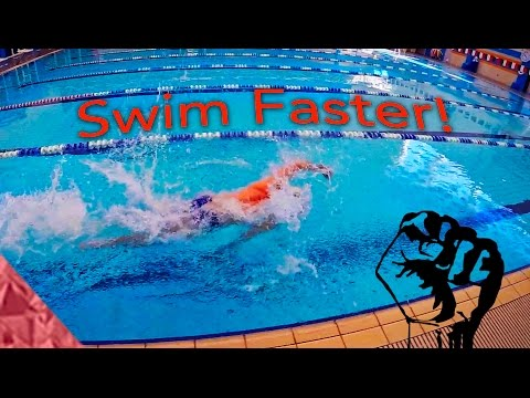 Swimming faster freestyle! Sprint drills/exercises to improve your speed!