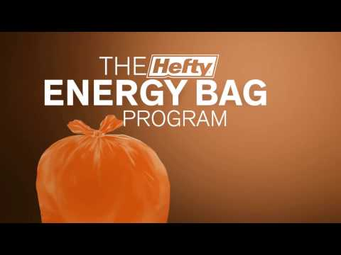 The Hefty® EnergyBag™ Program - If You Don't Bin it, Bag it!